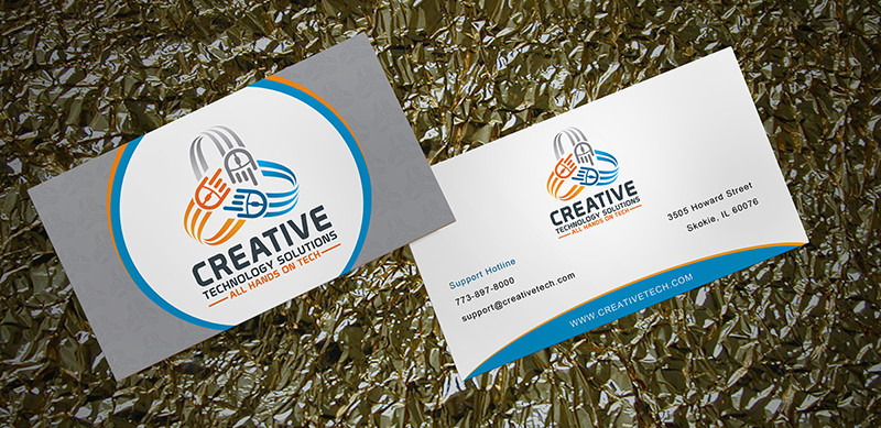 I will design a corporate and elegant business card for you
